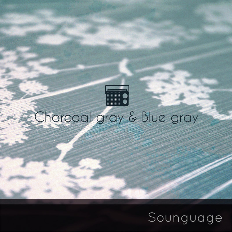 Sounguage - charcoal gray & blue gray